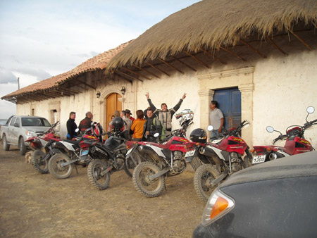 motorcycle rentals cusco trips puno